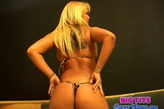 Crazy Brazilian Babalu Huge Tits and Phat Ass