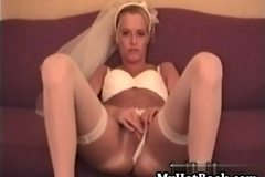 Ericka is a gorgeous leggy blonde newlywed whose