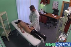 Young woman with killer body caught on camera getting fucked by doctor
