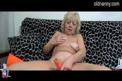 horny girl meets grandma
