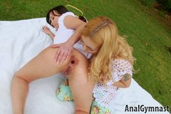 Lets Play In Anal Destruction - Lesbian Games