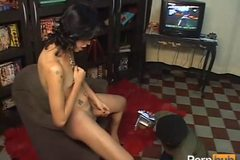 TRANSSEXUAL LAIR A MIDGETS APARTMENT - Scene 3
