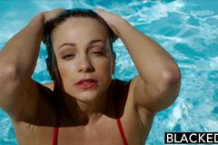 First Interracial for Fitness Model Abigail Mac