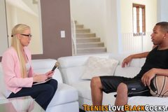 Vag rubbing teen spunked