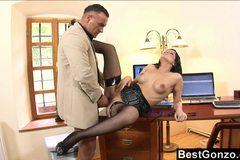 Secretary gets rewarded for her hard work