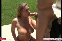 Busty Devon Lee fuck outdoors