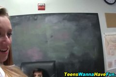 Novice teen fucked hard