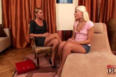 Sweet Cat is licking and kissing feet of Zuzana Z