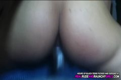 POV Cuckold Creamy Latina Teen Girlfriend Fucks Bestfriend