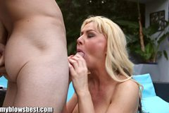 My MILF wife is cheating on me!