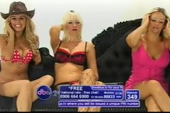 Michelle Chase, Hannah Z & Holly Mcguire Daytime Bluebird TV 2010