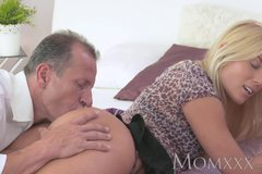Beautiful blonde Milf has her perfect tanned body fucked hard