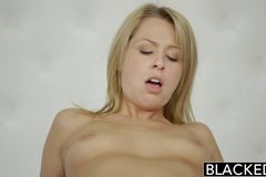 Cheating Blonde GF Zoey Monroe Barely Takes BBC in Her Ass