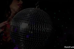 Romi Rain Disco Ball Masturbation