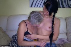 Dirty Girl and nasty Granny
