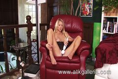 Mandy Armani uses a vibrator and cums for ATKGalleria.com