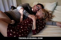 TeensLoveAnal - Petite Teen Gets Ass Fucked In Front Of Her Mom