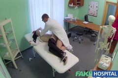 Doctors cock cures loud sexy horny patients ailments