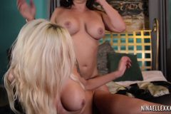Nina Elle and Claudia Valentine