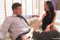 Dava Foxx Gets Creampied