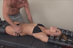 Sasha Foxx tickled