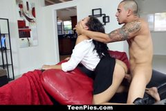 Ebony Adrian Maya Loves A Sticky Creampie!