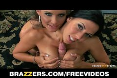 Brazzers - Officer worker gets a lesson in group sex