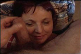 mature cock on face rubbing