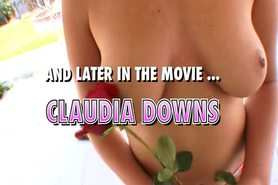 claudia and 2cocks