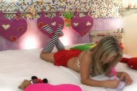 Blonde Brazilian Babe Fucks Her First Big Cock