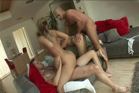 Two Teens In Foursome