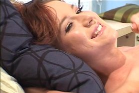 Cute young Anna Bell Lee gets her tight ass slammed