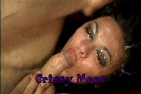 Crissy Moon Rough and Messy Blow Job