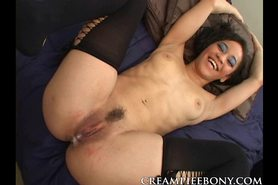 Guy Dump his Hot Load Inside an Ebony