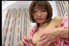 Pretty Sexy Japanese Girl's Hot Cunt Fucked