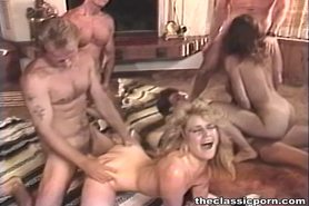 Hot sex orgy with many participants