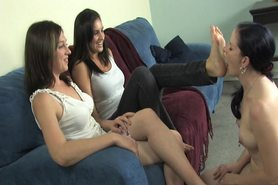 Lesbian Foot Worship and Humiliation