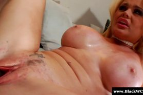 Blonde white Alexis Ford loves getting BBC pounding her