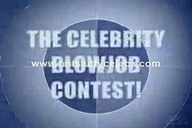 Celebrity Blowjob Contest