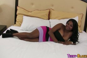 Ebony plumper doggystyle