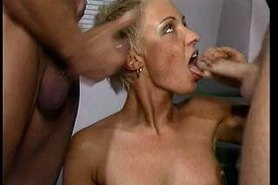 Mandy Mystery Threesome