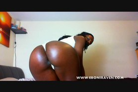 Cam; Big Butt Ebony Babe Strips