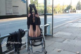 Paraprincess outdoor exhibitionism and flashing