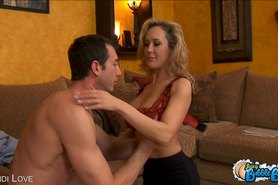 Brandi Love gets her round ass pounded