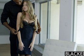 Petite Blonde Shawna Lenee Screams On Huge Black Dick