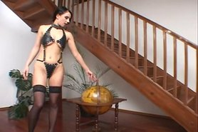 Bernadetta & Valeria take on two black cocks ATM DP Cumfart