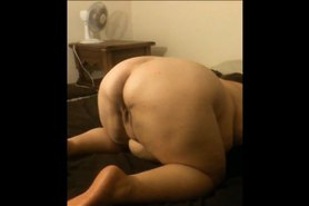 Big Butt Juicy BBW Slave Pose n Play