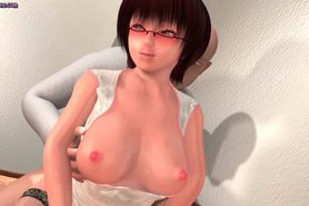 Sensual animated nurse gets slammed
