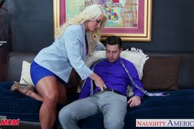 Blonde  Alura Jenson gets large tits fucked