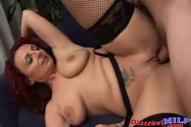 Dirty Fucking Italian MILF Takes Young Cock